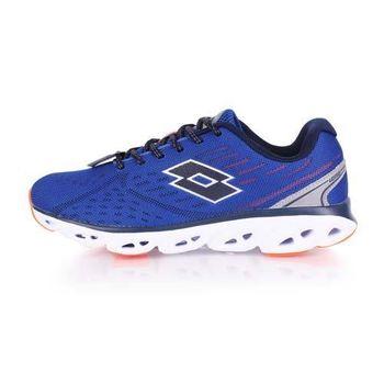 【LOTTO】AIR FLOW II 男慢跑鞋-路跑 藍白