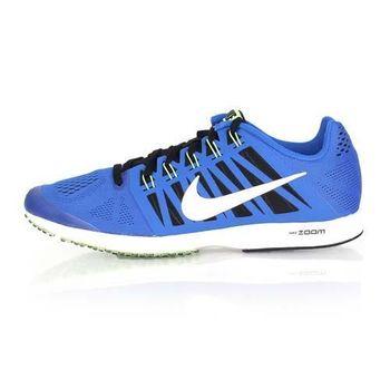 【NIKE】AIR ZOOM SPEED RACER 6 男女路跑鞋 - 慢跑 寶藍螢光綠