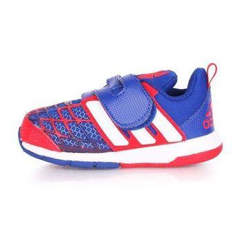 【ADIDAS】MARVEL SPIDER-MAN CF I 男兒童休閒運動鞋 藍紅白