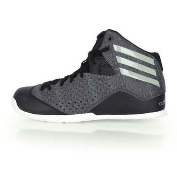 【ADIDAS】NXT LVL SPD IV 男籃球鞋 - 高筒 愛迪達 黑灰