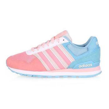 【ADIDAS】10K W 女復古休閒運動鞋 - 慢跑 愛迪達 桃紅淺藍