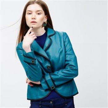 【ICHE 衣哲】立體紋滾邊西裝外套
