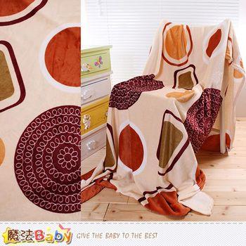 魔法Baby 法蘭絨毛毯 140x210cm 四季毯~w61017