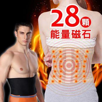 【JS嚴選】風靡日本養生能量磁石腰帶(磁石腰帶+爆汗腰帶)