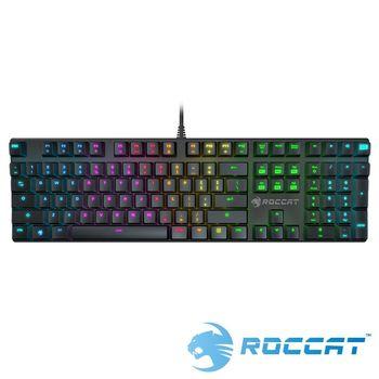 ROCCAT SUORA RGB電競鍵盤-青軸中文