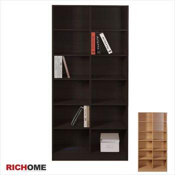 RICHOME HOME超值12格書櫃-2色
