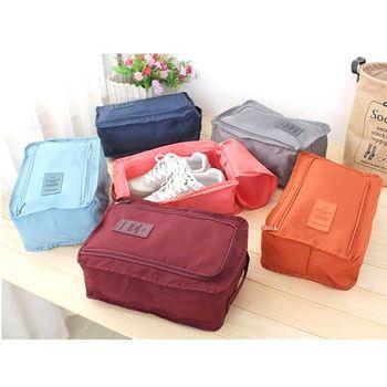 韓國二代旅行收納必備 防水式拉鍊鞋袋/收纳袋/提袋(1入)