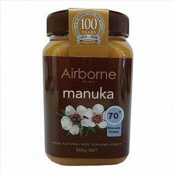 紐西蘭【Airborne艾爾邦】麥蘆卡蜂蜜 500克 花粉含量70+