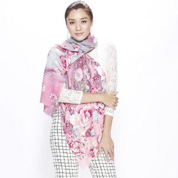 iima時尚風華100%純羊毛百搭披肩組