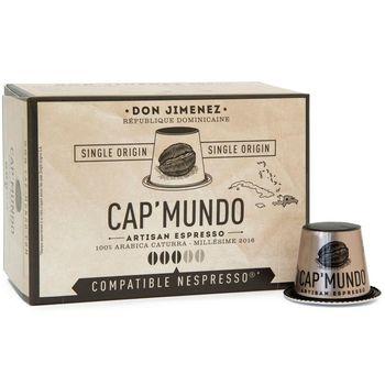 CAP' MUNDO 咖啡膠囊《DON JIMENEZ》─ 相容Nespresso(10顆/盒)