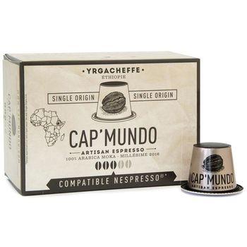 CAP' MUNDO 咖啡膠囊《YRGACHEFF》─ 相容Nespresso(10顆/盒)