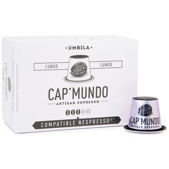 CAP' MUNDO 咖啡膠囊《UMBILA》─ 相容Nespresso(10顆/盒)