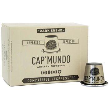CAP' MUNDO 咖啡膠囊《DARK EBENE》─ 相容Nespresso(10顆/盒)