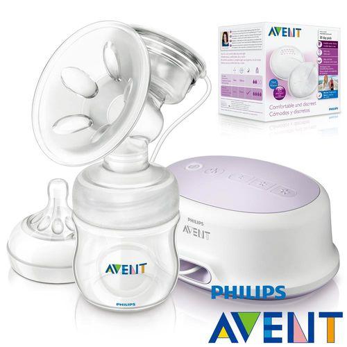 PHILIPS AVENT  輕乳感PP標準型單邊電動吸乳器+日用拋棄式乳墊30入