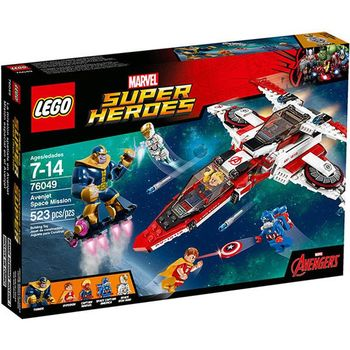 【LEGO樂高積木】Super Heros超級英雄系列-復仇者太空任務 LT 76049