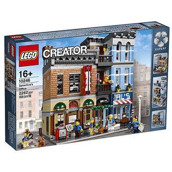 【LEGO樂高積木】Creator創作系列-偵探事務所 LT 10246