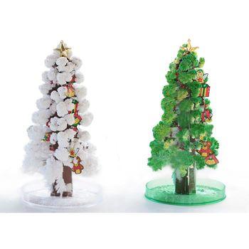 賽先生科學工廠|紙樹開花巨大聖誕樹