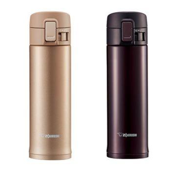 象印【SM-KC48】480ml 彈蓋超輕量不銹鋼真空保溫瓶/保溫杯