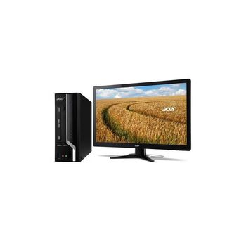 ACER 宏碁 Veriton X6630G-04D i7-4790四核 Win7Pro 桌上型電腦+G227HQL 21.5吋電腦螢幕(黑) 超值組