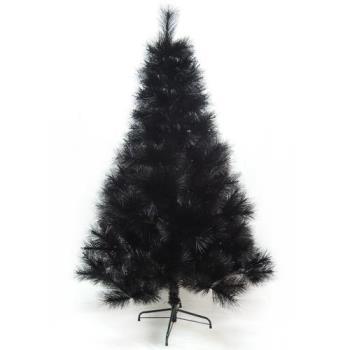 (預購3-5天出貨)台灣製6尺/6呎(180cm)特級黑色松針葉聖誕樹裸樹 (不含飾品)(不含燈)