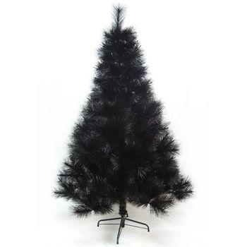 (預購3-5天出貨)台灣製4尺/4呎(120cm)特級黑色松針葉聖誕樹裸樹 (不含飾品)(不含燈)