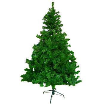 (預購3-5天出貨)台灣製7呎/ 7尺(210cm)豪華版綠聖誕樹裸樹 (不含飾品)(不含燈)