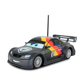 【Cars 汽車總動員】1:24 黑炫版麥帥 遙控車 DK04816