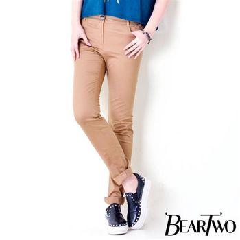 beartwo 立體星星裝飾造型長褲 (共二色)