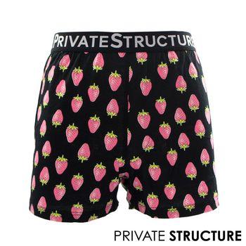 【P.S】狂想系列-小草莓四角男平口褲, Private Structure