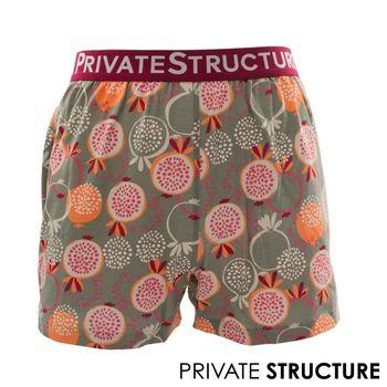 【P.S】狂想系列-香吉士四角男平口褲, Private Structure