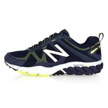 【NEWBALANCE】610 V5系列 男越野慢跑鞋- NB 路跑 N字鞋 深藍螢光綠