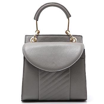 【BAIKAL】典雅俏麗手提真皮包