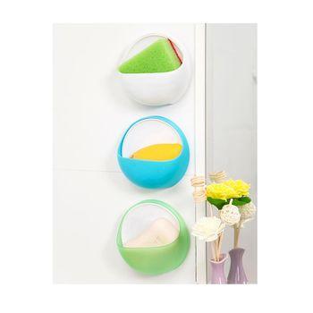 浴室吸盤式創意置物盒 肥皂盒