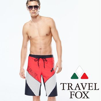【TRAVELFOX 旅狐】大男寬口泳褲(C14908)