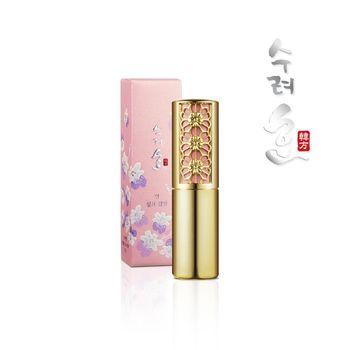 【秀麗韓】妍 珍珠光絲絨潤唇膏-蘭花限定版(買一送一)