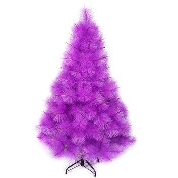 (預購3-5天出貨)台灣製4尺/4呎(120cm)特級紫色松針葉聖誕樹裸樹 (不含飾品)(不含燈)