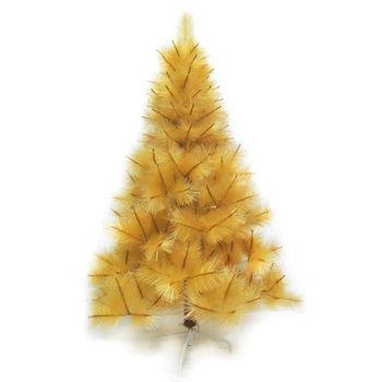 (預購3-5天出貨)台灣製4尺/4呎(120cm)特級金色松針葉聖誕樹裸樹 (不含飾品)(不含燈)