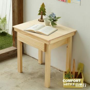 CiS自然行兒童家具 無甲醛-兒童學習桌-一抽(水洗白)