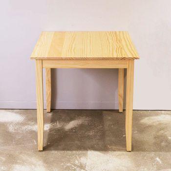 CiS自然行實木家具-實木桌74x74cm (扁柏自然色)