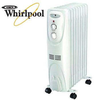 Wihrlpool 惠而浦 3-6坪 WORM09W 葉片式電暖器 (機械式)
