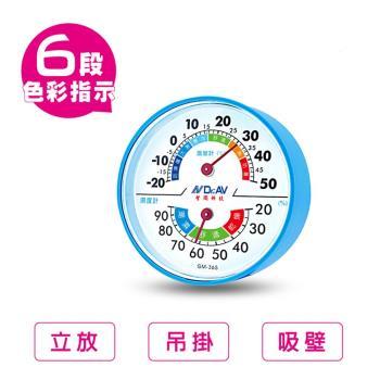 環境健康管理 溫濕度計(一組兩入)