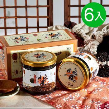 弘益-三代傳承紅藜麥黑芝麻醬6入組