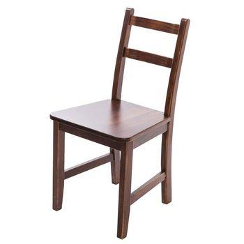 CiS自然行實木家具- Reykjavik北歐木作椅(焦糖色)原木椅墊