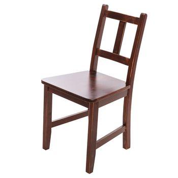 CiS自然行實木家具- Avigons南法原木椅(焦糖色)原木椅墊