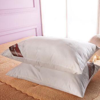 【HomeBeauty】蒙古純羊毛舒眠枕2入