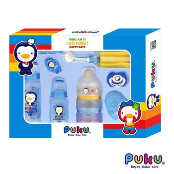 PUKU藍色企鵝 寶貝禮盒