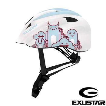 EXUSTAR 自行車兒童安全帽 (白)