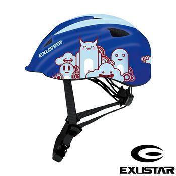EXUSTAR 自行車兒童安全帽 (藍)