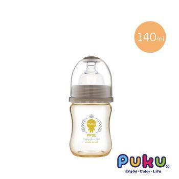 PUKU藍色企鵝 PPSU母乳實感寬口奶瓶140ML