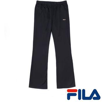 FILA女性吸排內刷毛長褲(時尚黑)5PNP-5457-BK
